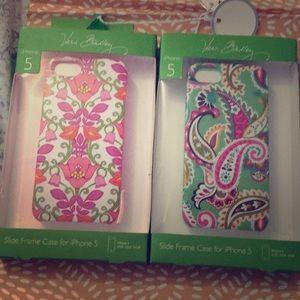 Vera Bradley slide frame cases for iPhone 5